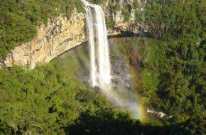 Vila Mont Waterval Fly Drive Zuid Brazilie