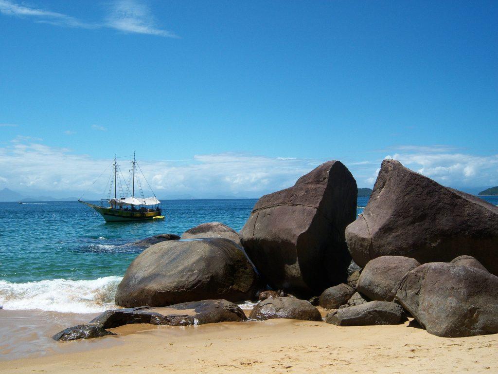 Vakantie Brazilië Rotsen Strand
