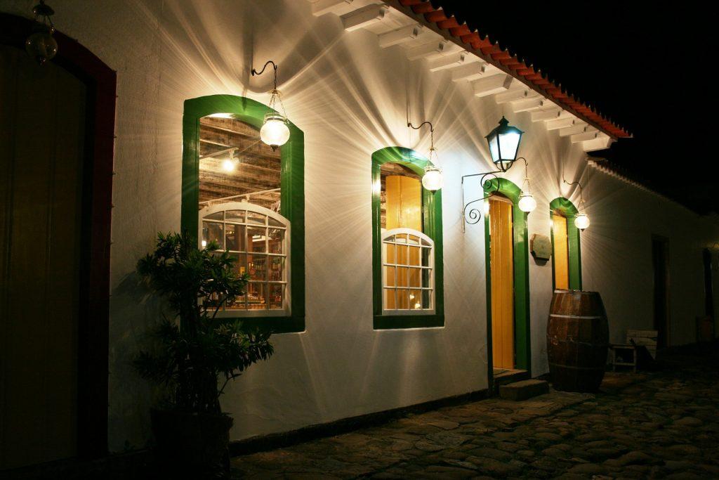 Paraty Uitgaansleven Restaurant Brazilie